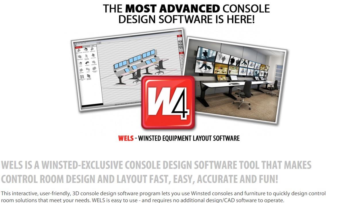 security console workstation desk design software - Desk Design Software